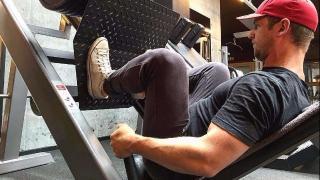 Esercizio di Leg Press