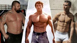 Eddie Hall, Arnold Schwarzenegger, Cristiano Ronaldo