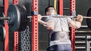 Squat con cintura