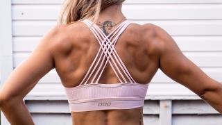 Upper body femminile dorsali
