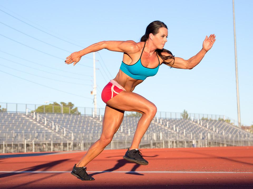 Donna sprinter