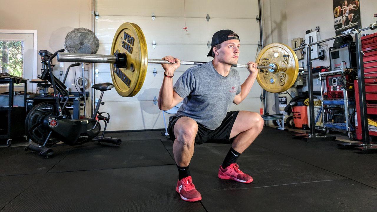 Esecuzione dello squat