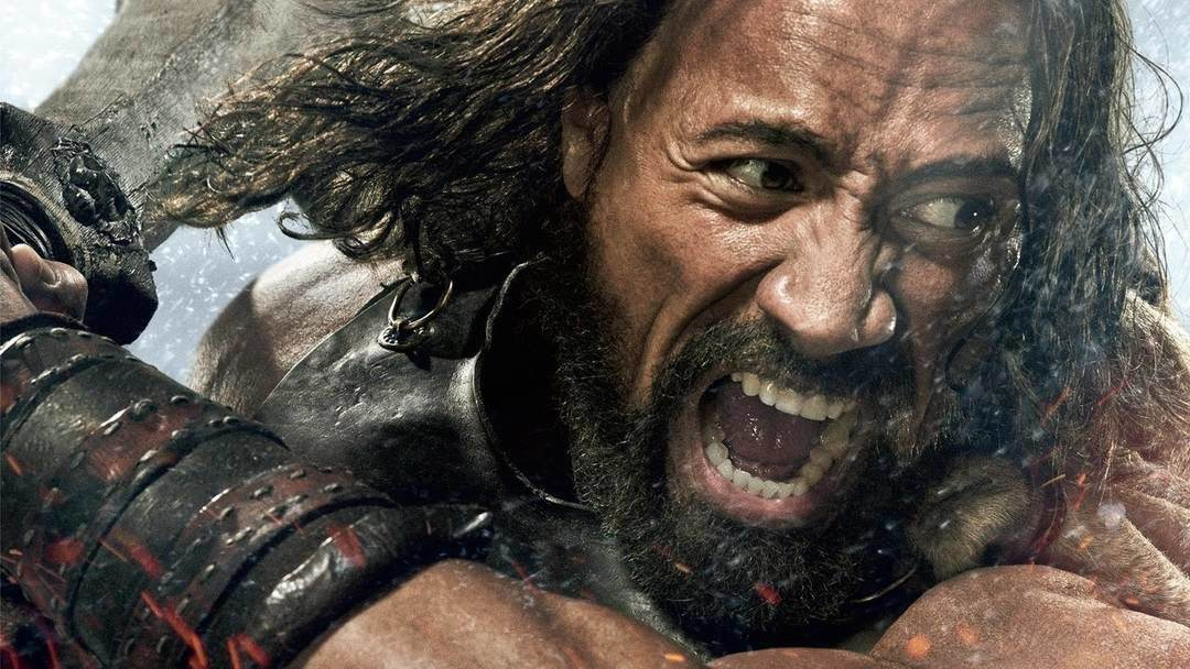 Dwayne The Rock Johnson interpreta Hercules